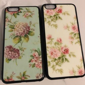 Accessories - iPhone 6/6S Plus Floral Phone Case 2 Piece